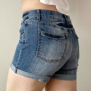 Cherokee Capsule Stretchy Mid Rise Jean Shorts XL